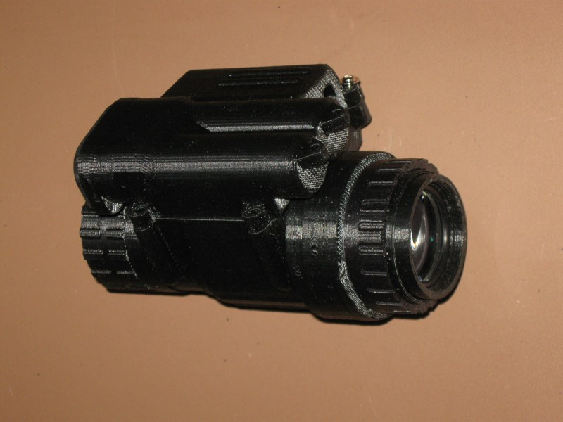 DIY AU/PVS-14 Night Vision Monocular project almost complete - www ...
